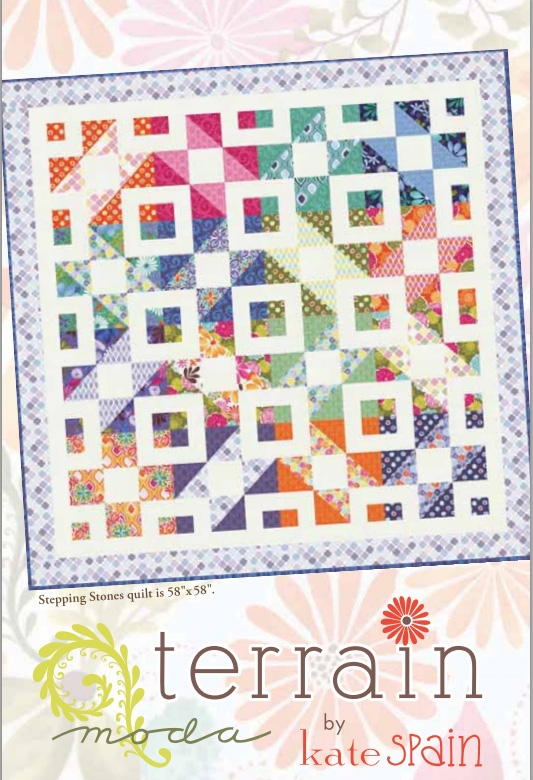 Stepping Stones Quilt Pattern by Kate Spain