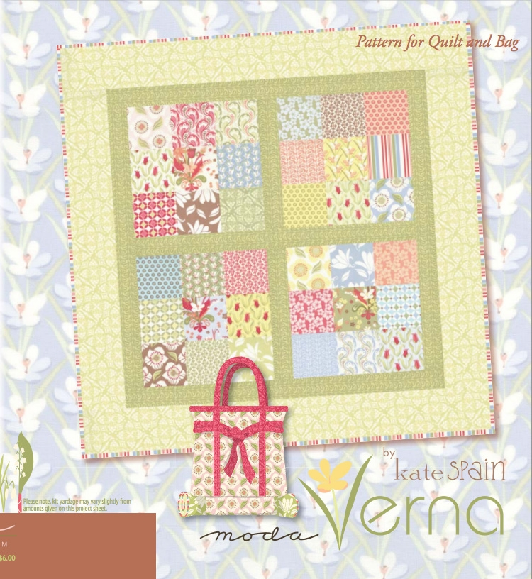 Verna Quilt Pattern by Kate Spain