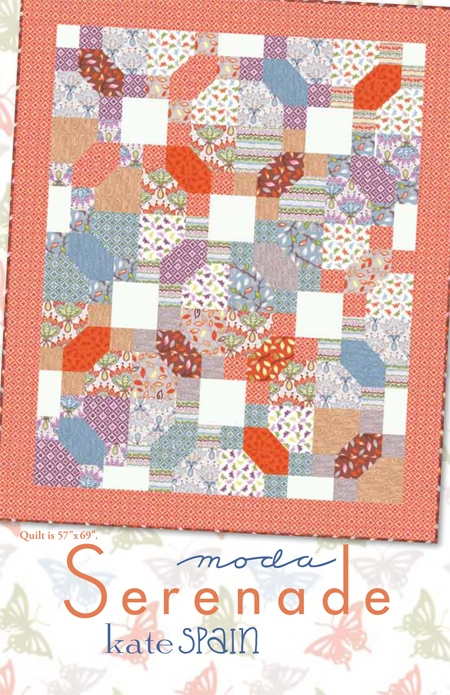 Serenade Quilt Pattern by Kate Spain