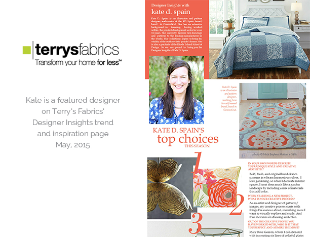 Terry's Fabric Style spotting
