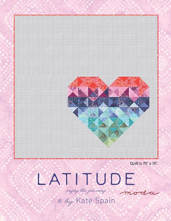 Latitude Heart Quilt Pattern