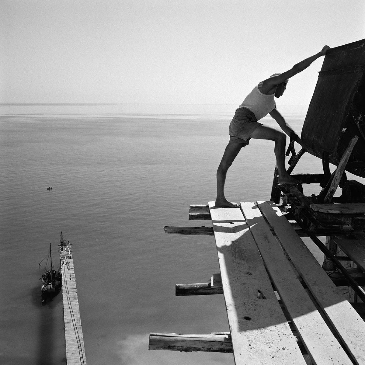 Italien,Lipari  1954