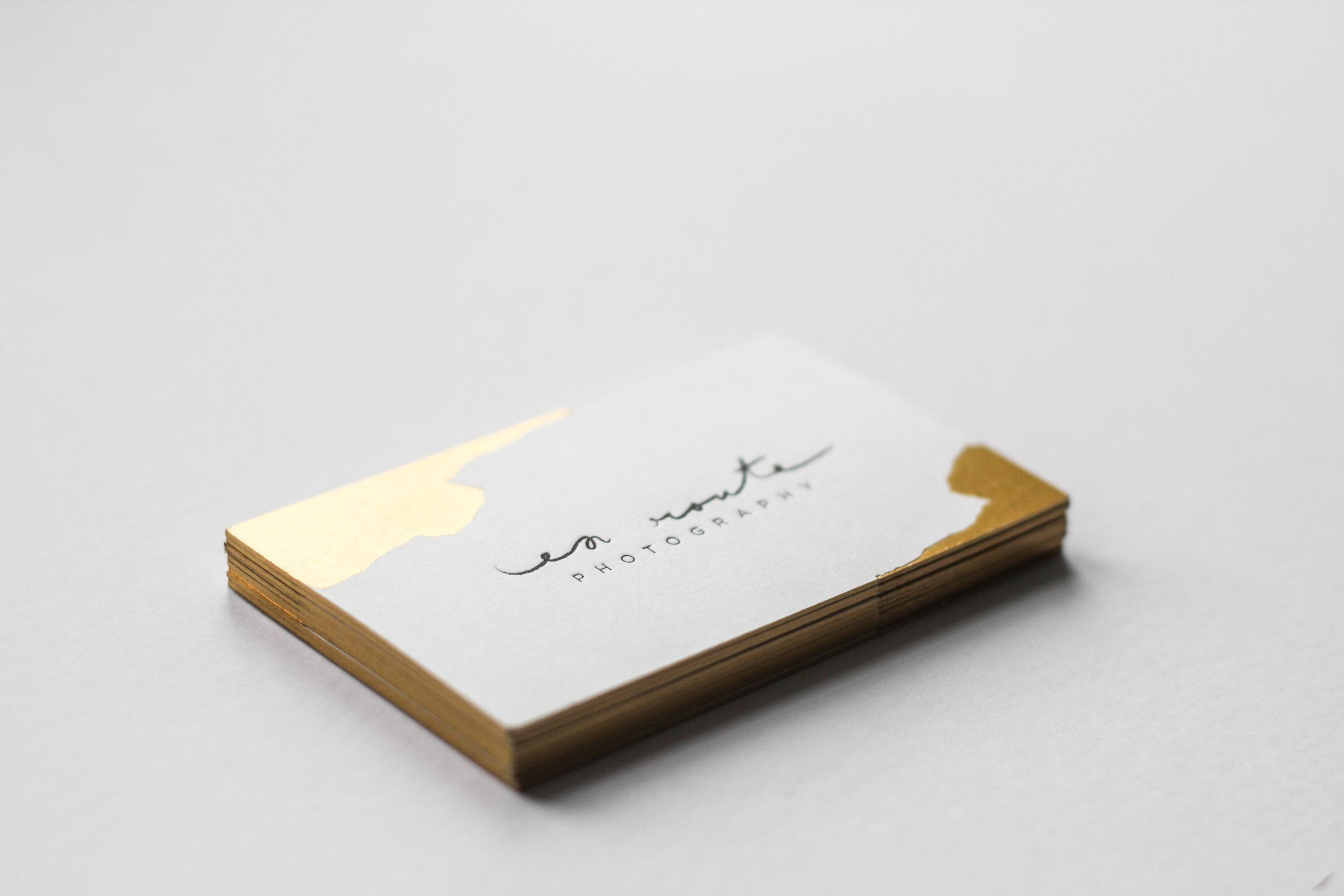 En Route photography/  branding & print design