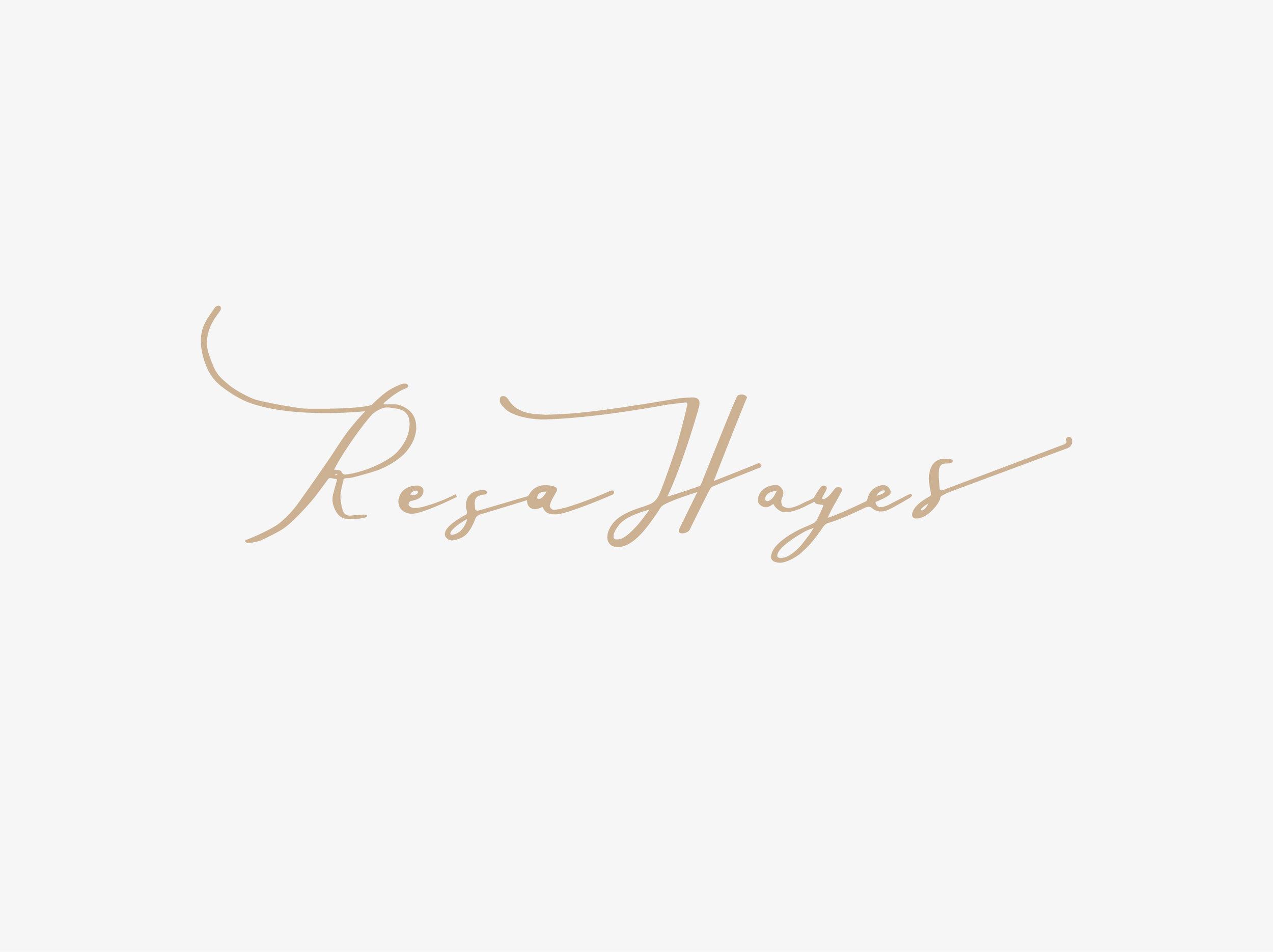 Resa Hayes by Belinda Love Lee