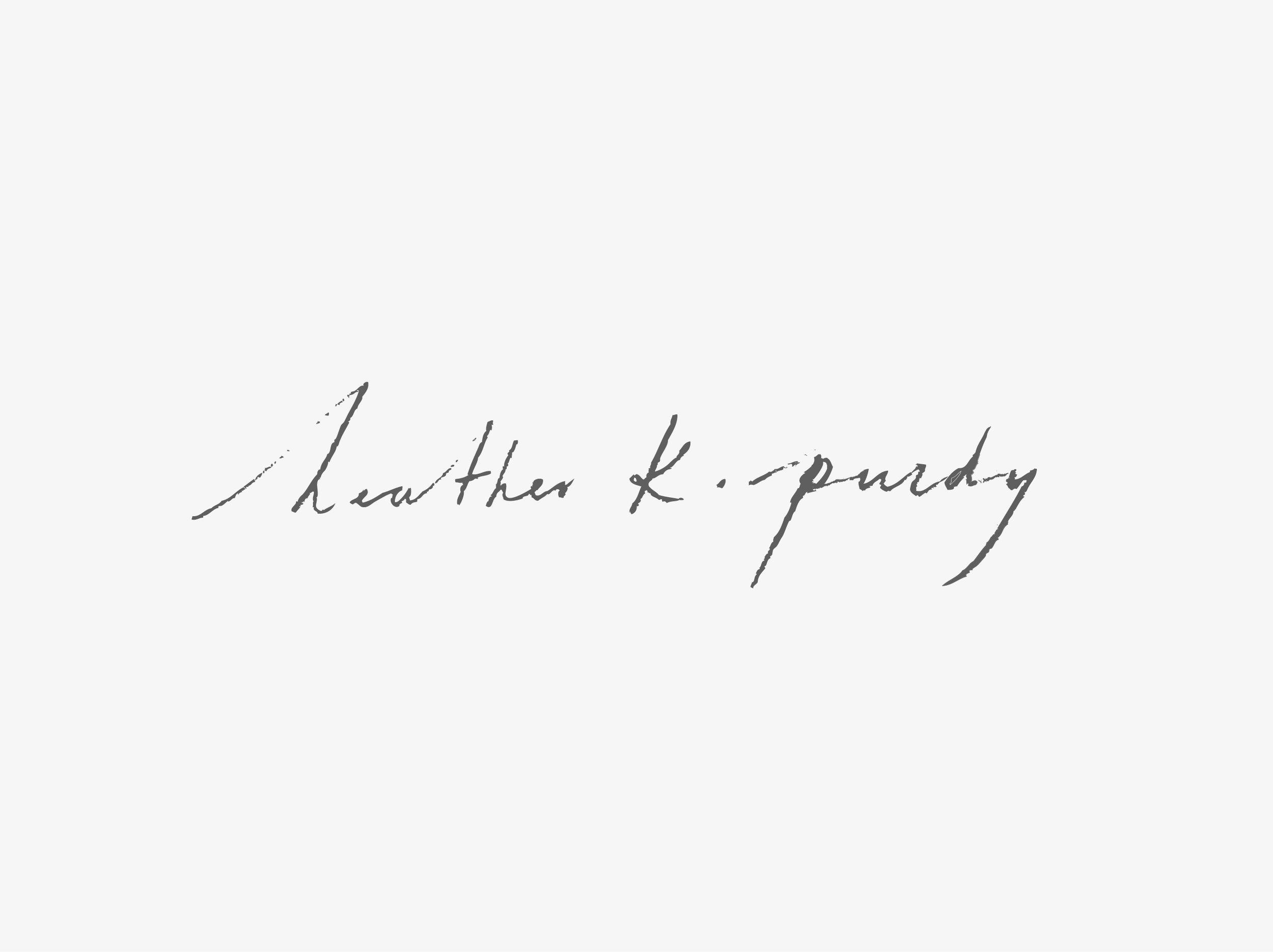 Heather K Purdy