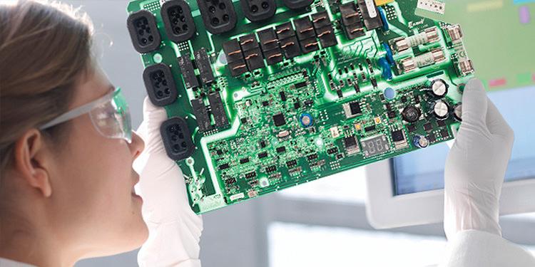 test gecko electronic board