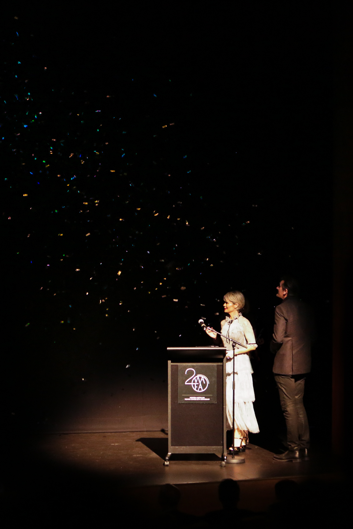 Kylie Radford and husband Richard Poulson, Morrison - Designer of the Year and Stephanie Quinlan Award