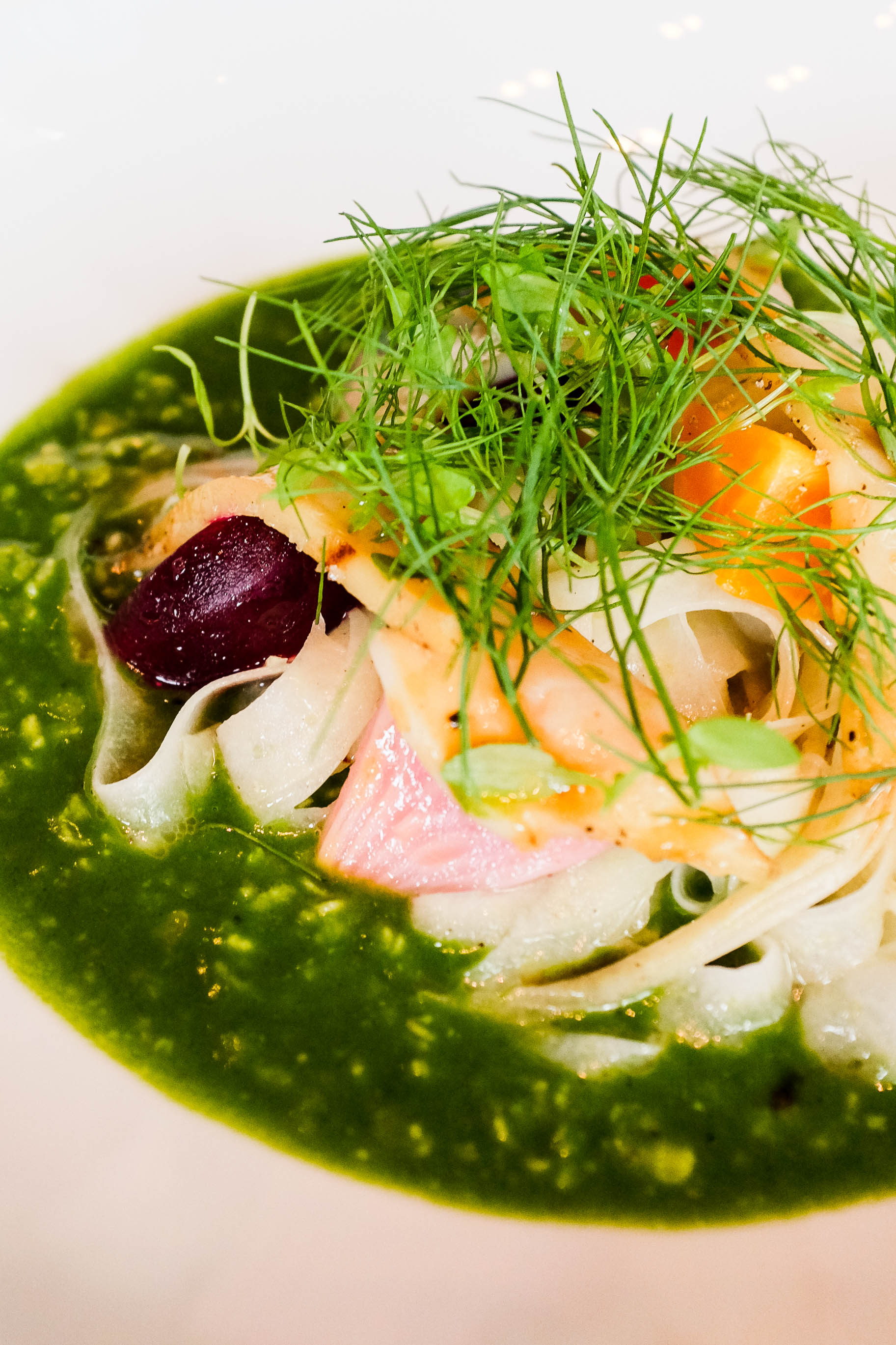 Savoury Porridge (c.1660) -Garlic & parsley butter, grilled abalone, pickled beetroot & fennel $36.00
