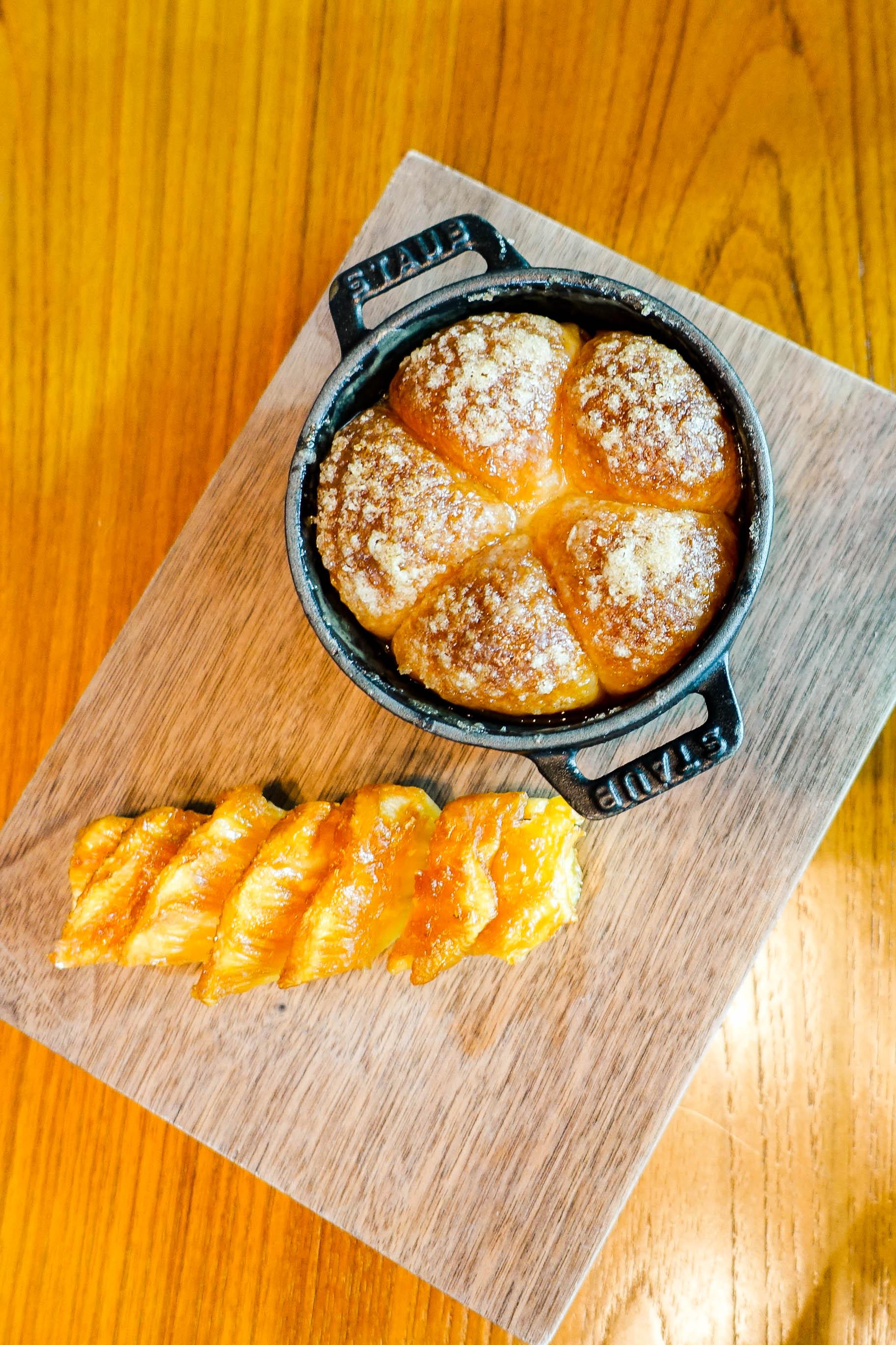 Tipsy Cake (c.1810) -Spit roast pineapple $32.00