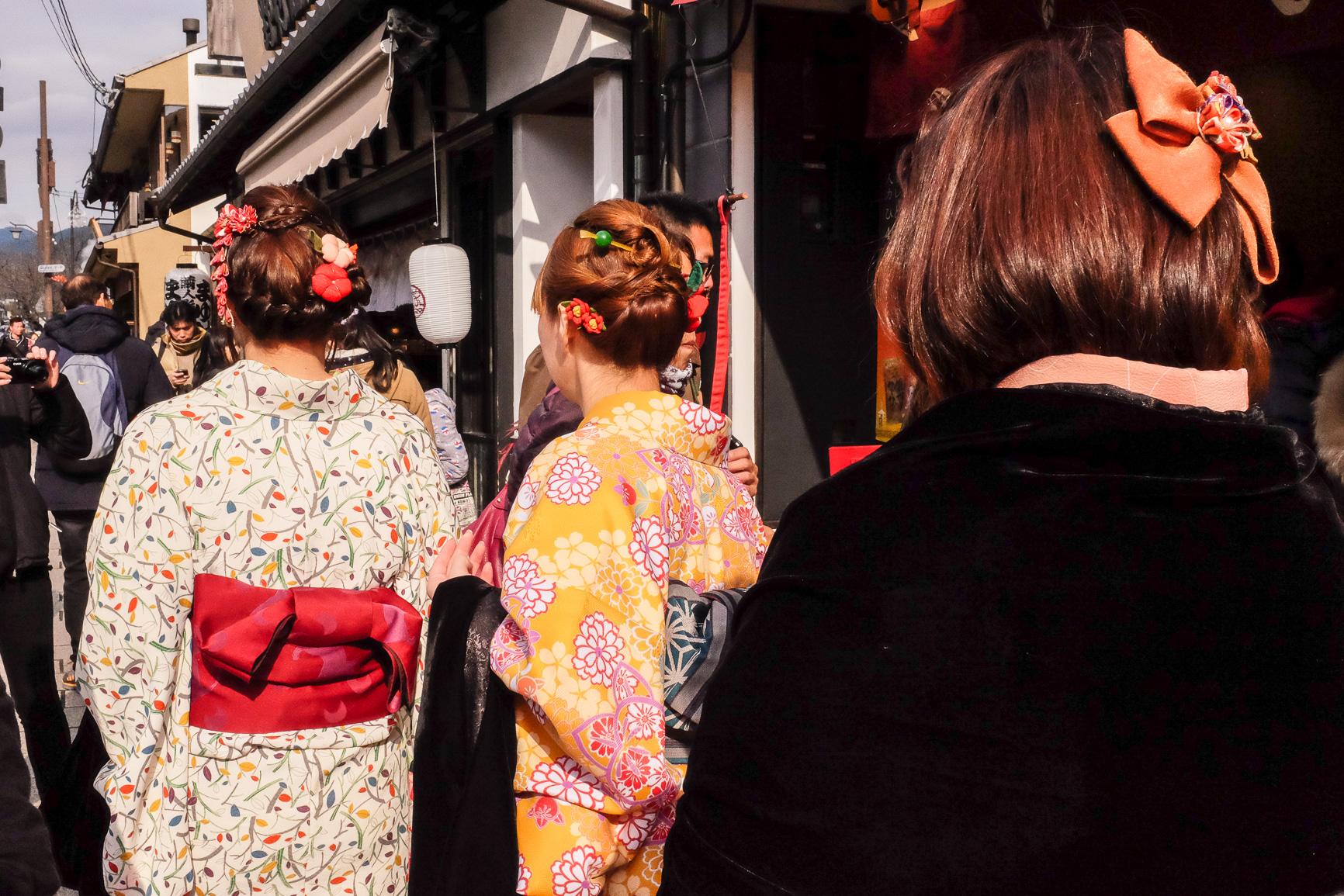 Japan Tokyo Kyoto Kimono