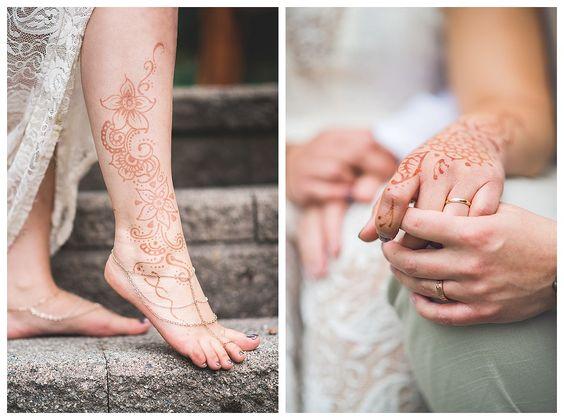 #LEMBAsbride in her custom barefoot sandals (gold+silver)