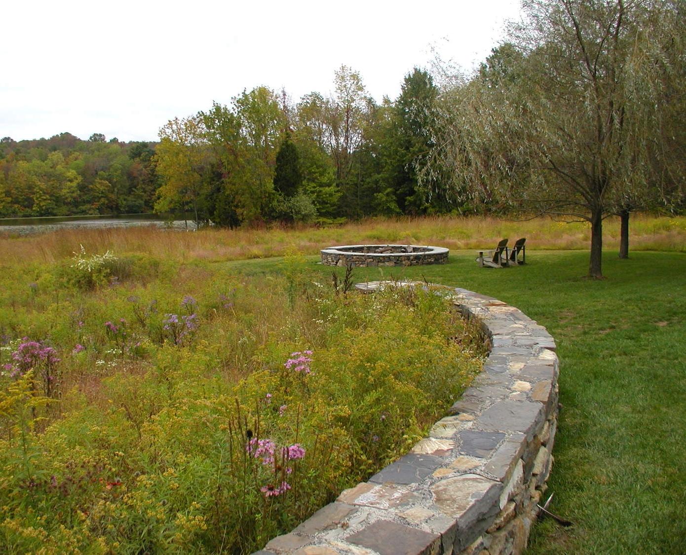 meadow fire pit