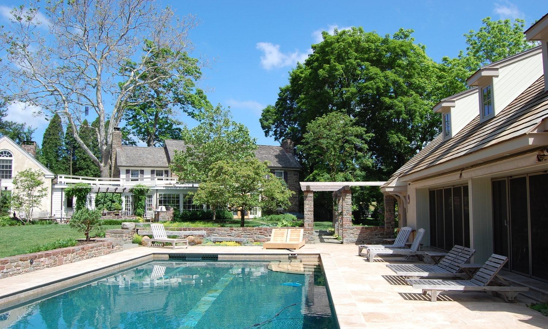 lap pool Toby Hoffman pool house