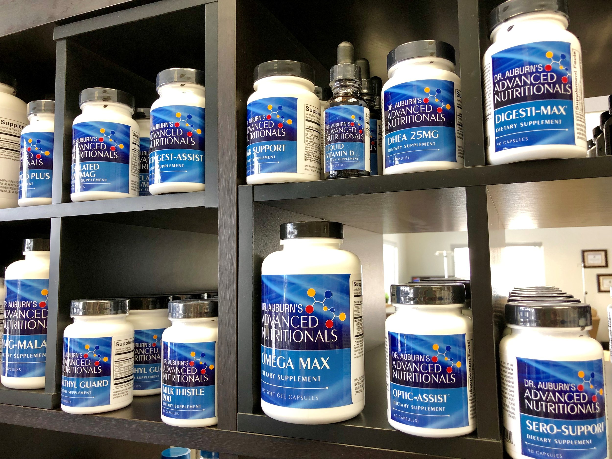 Dr. auburn's advanced Nutritionals launched in-store on March 1!