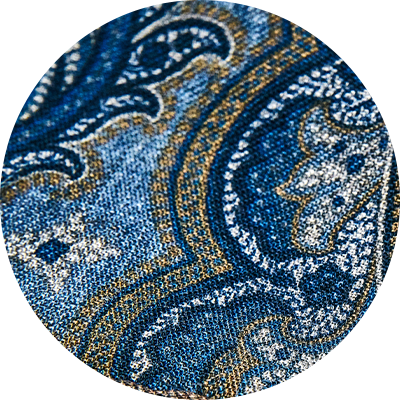 305 Denimblue/paisley print