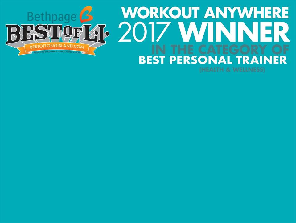 2017 BEST OF LONG ISLAND PERSONAL TRAINER - February 2017