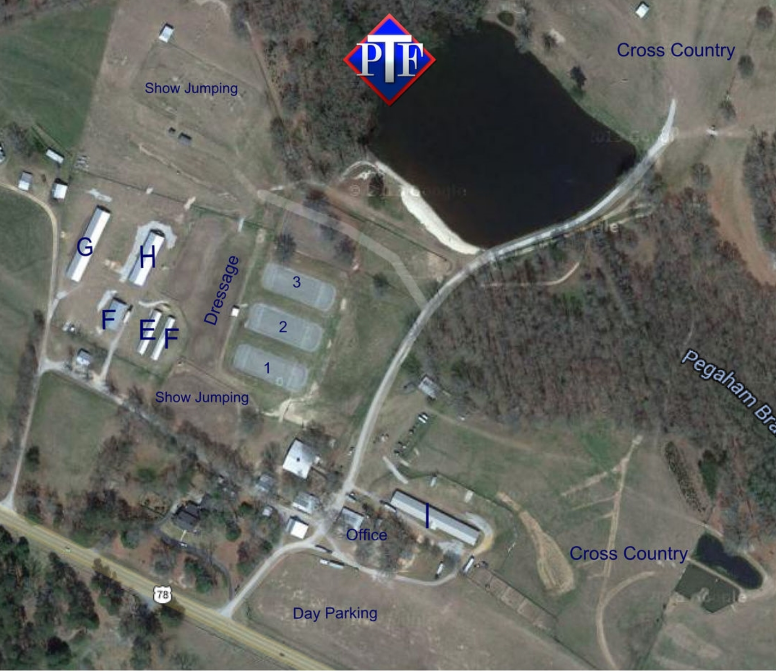 Map of Facility and Stabling
