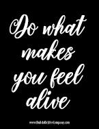 做什么让你感觉活力四射