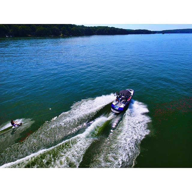 Boats and Droes 🚀💃🏼@nautiqueboats @djiglobal
