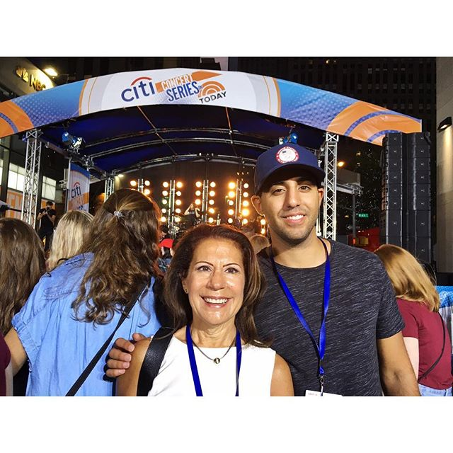Crossing off @mamafarage 's empty-nester bucket list one 4am concert at a time 😴🎸🎤 #bastille #butifyoucloseyoureyes #backtosleep #todayshow #tunein