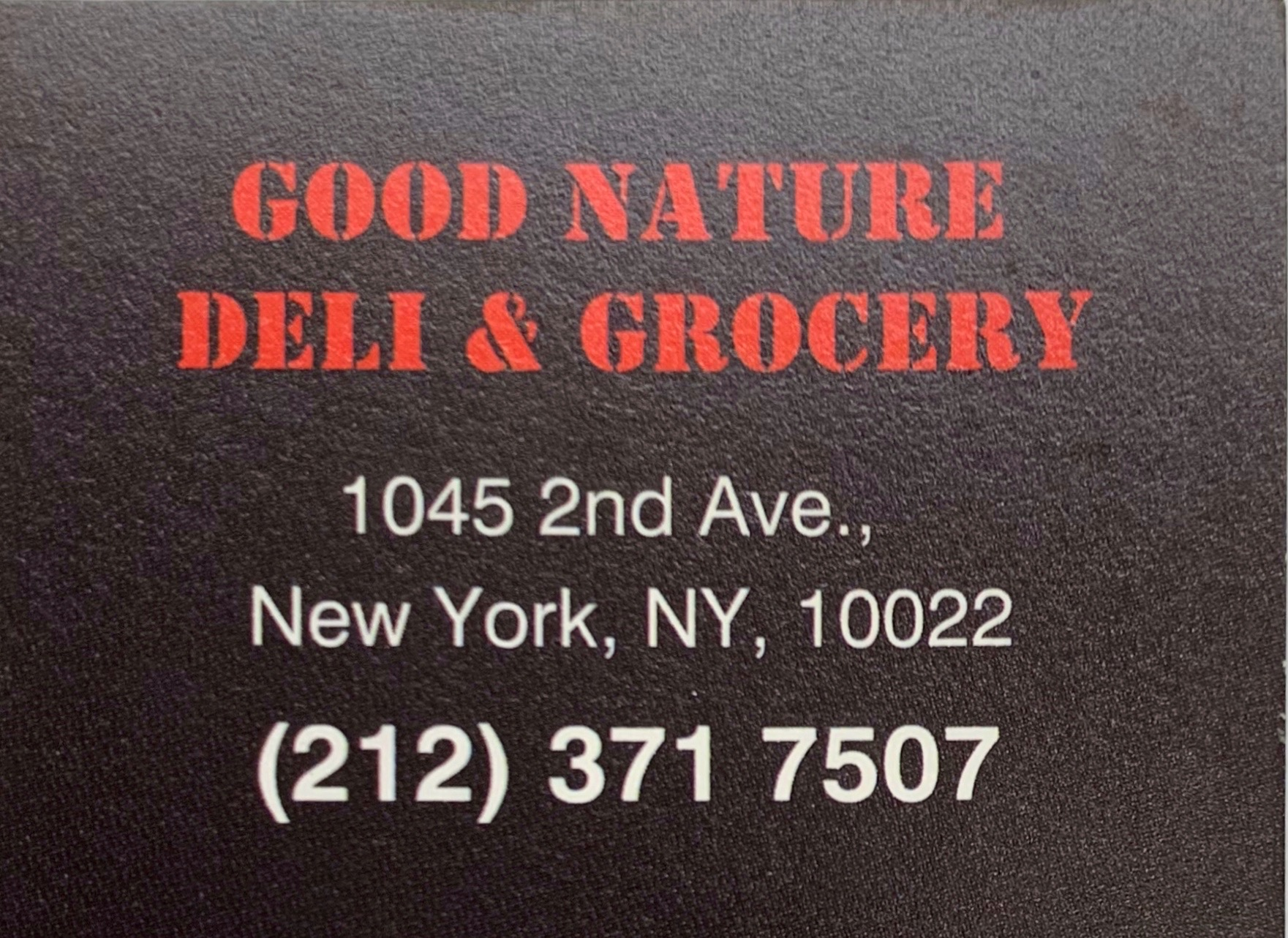 Uptown Manhattan- Find our Party-Sized mixers at Good Nature Deli & Grocery (2nd Ave x 55th st)