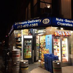 East Village- Find our Party-Sized mixers at East Village Farm & Grocery (2nd Ave x 4th St)