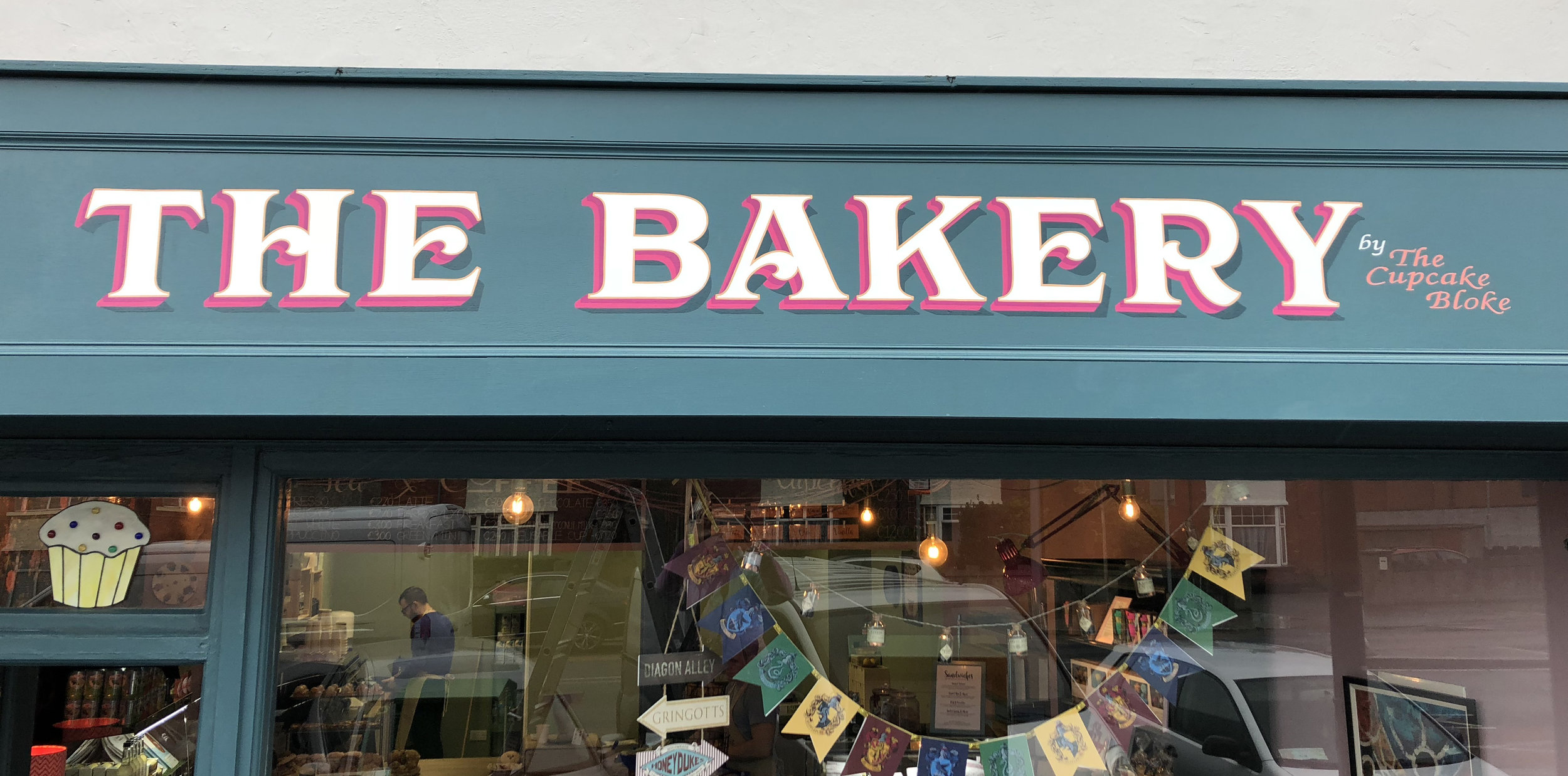 THE BAKERY, Rialto, Dublin. Design Signs of Power.