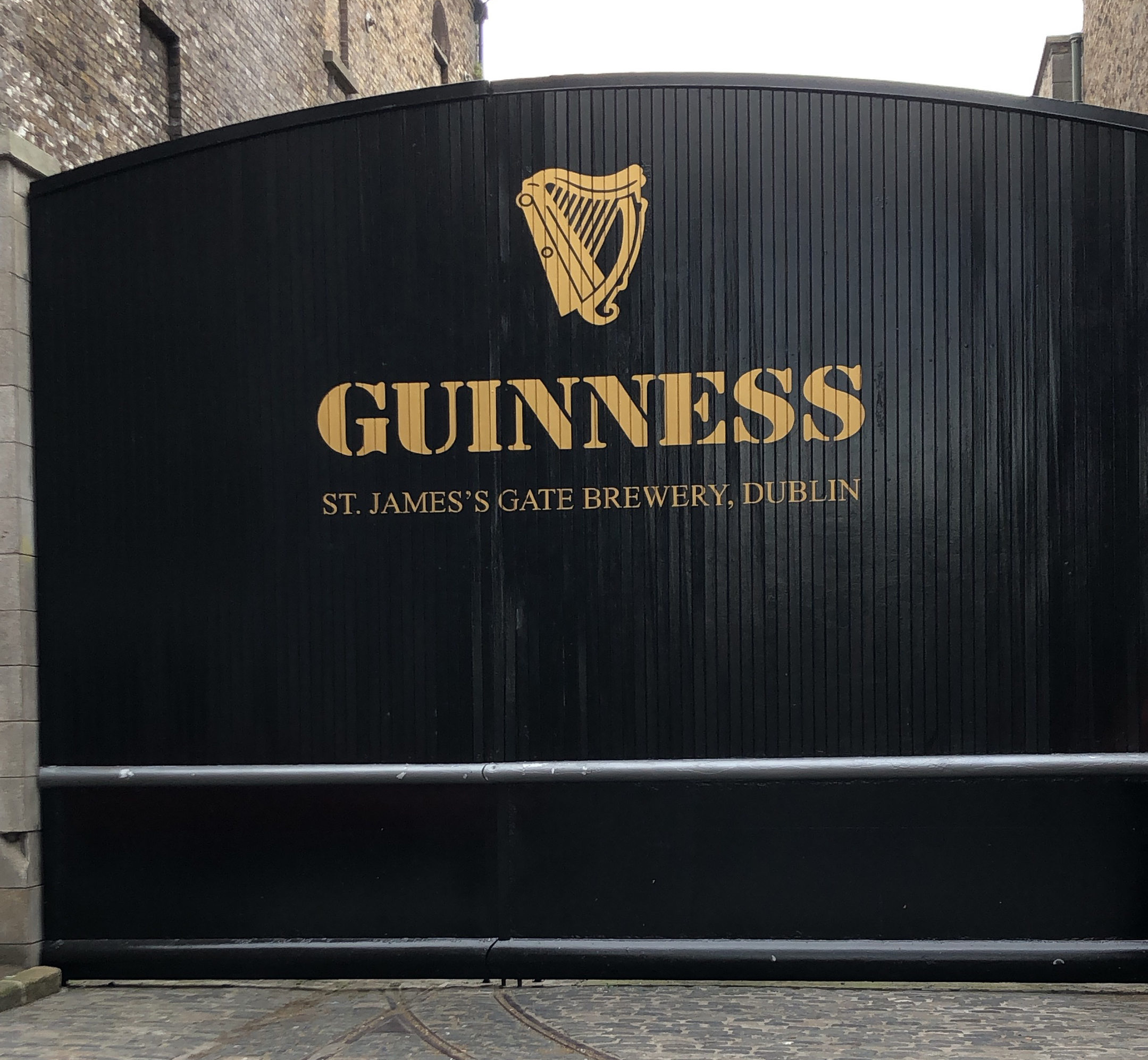 GUINNESS ST. JAMES GATE, Dublin 8.