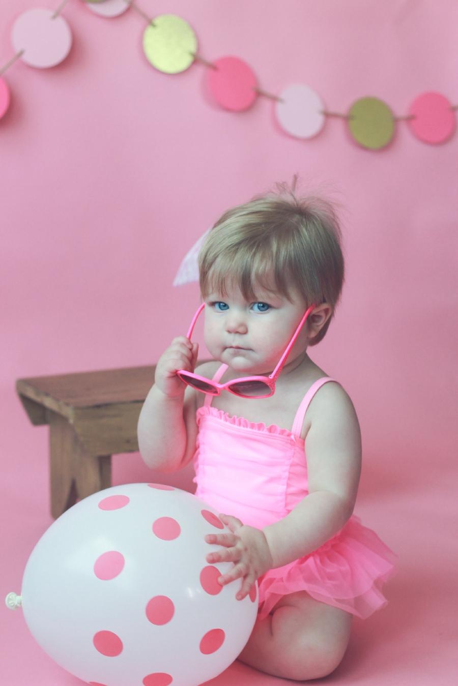 Pink Birthday Photos