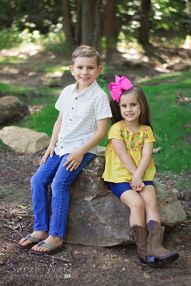 Sibling Sessions, Grapevine Botanical Gardens