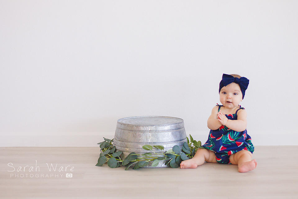 Baby Girl One Year Session