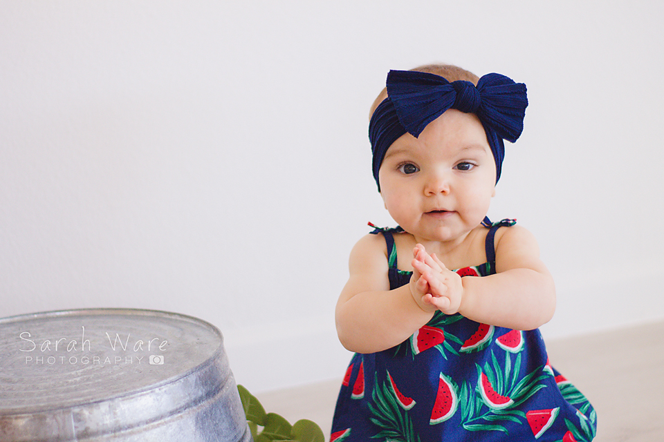 First Birthday Girl Session