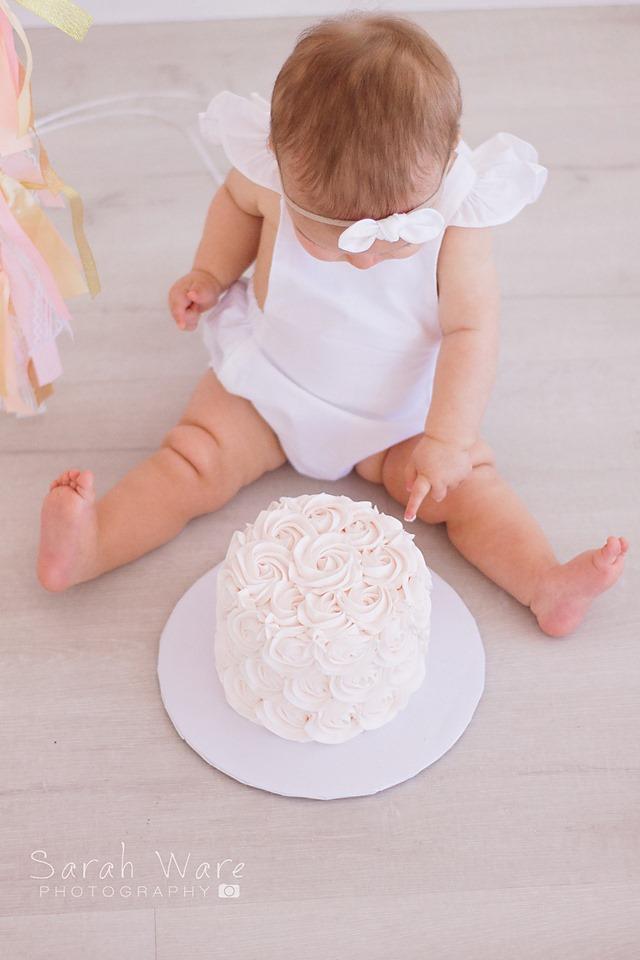 Baby Girl Cake Smash Session