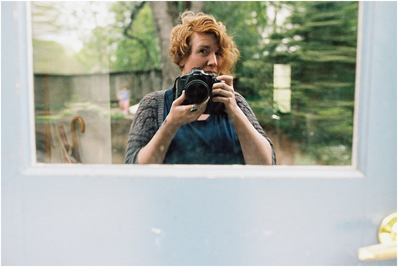 Selfie (Canon 1v :: Portra 400 @320)   133/366