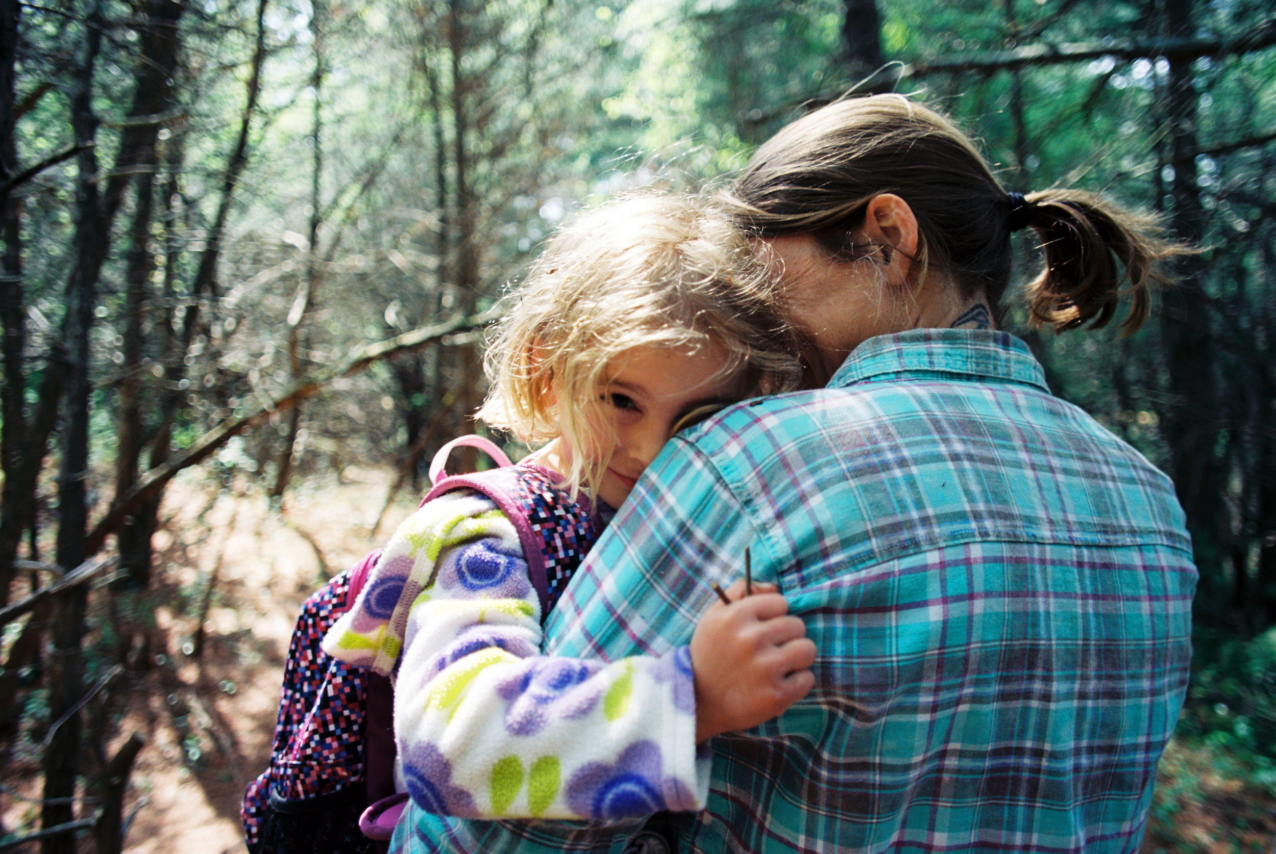 Nature School Hike (Nikon FM2 :: Ektar)   141/366