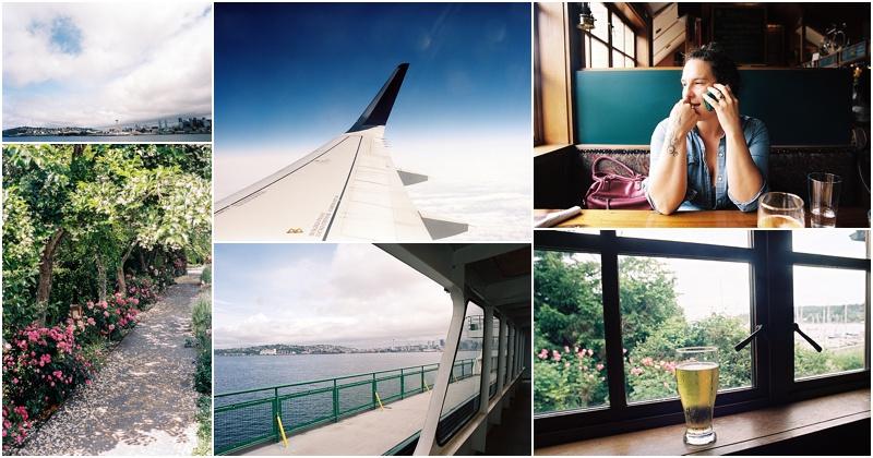 Seattle Day 1 (Pentax 645n & Nikon FM2 :: Portra 400)   144/365