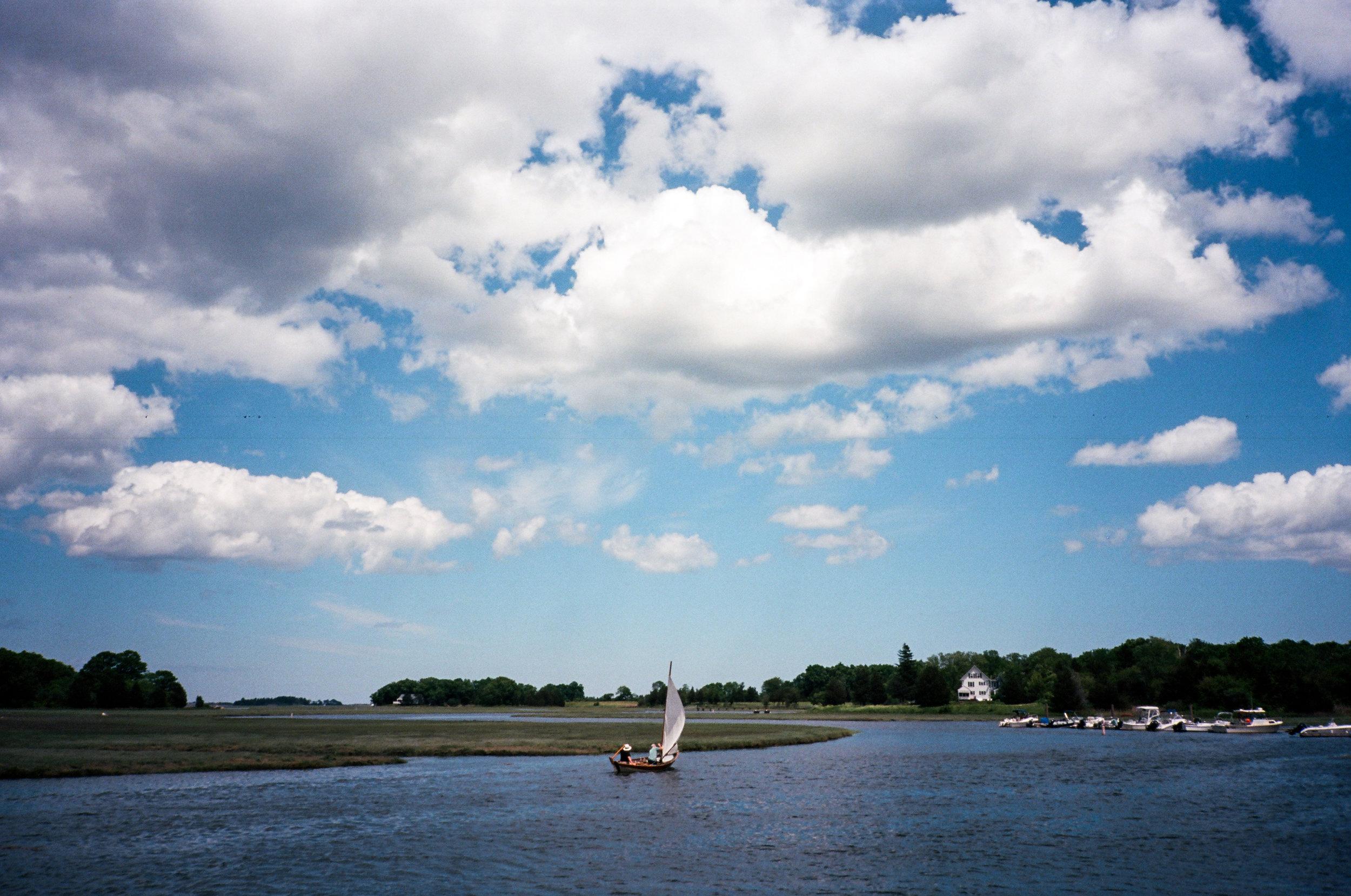 Essex River (Yashica T3 :: Ektar)   159/365