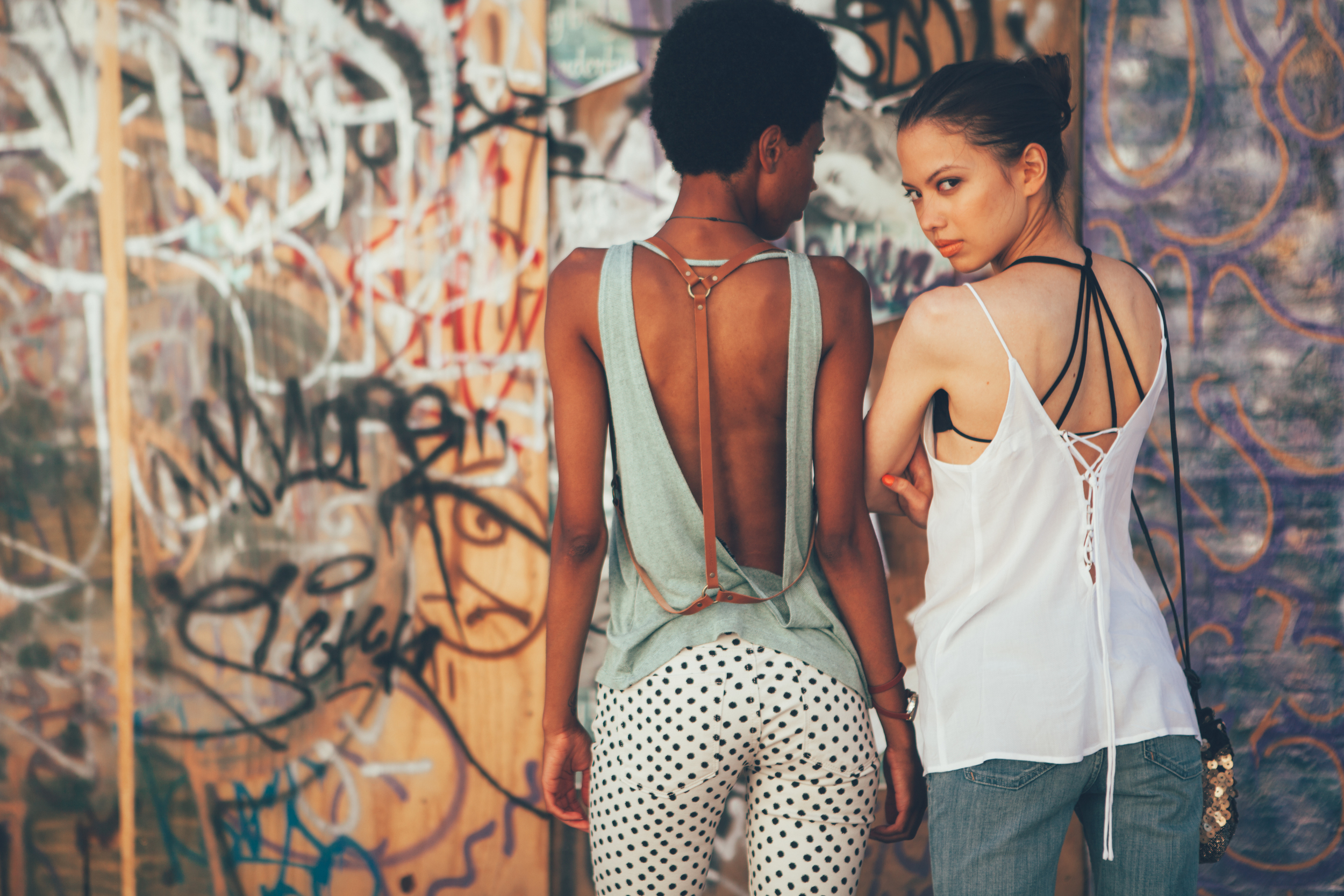 Urban Art Lifestyle Photography Session with The Finches in Chicago
