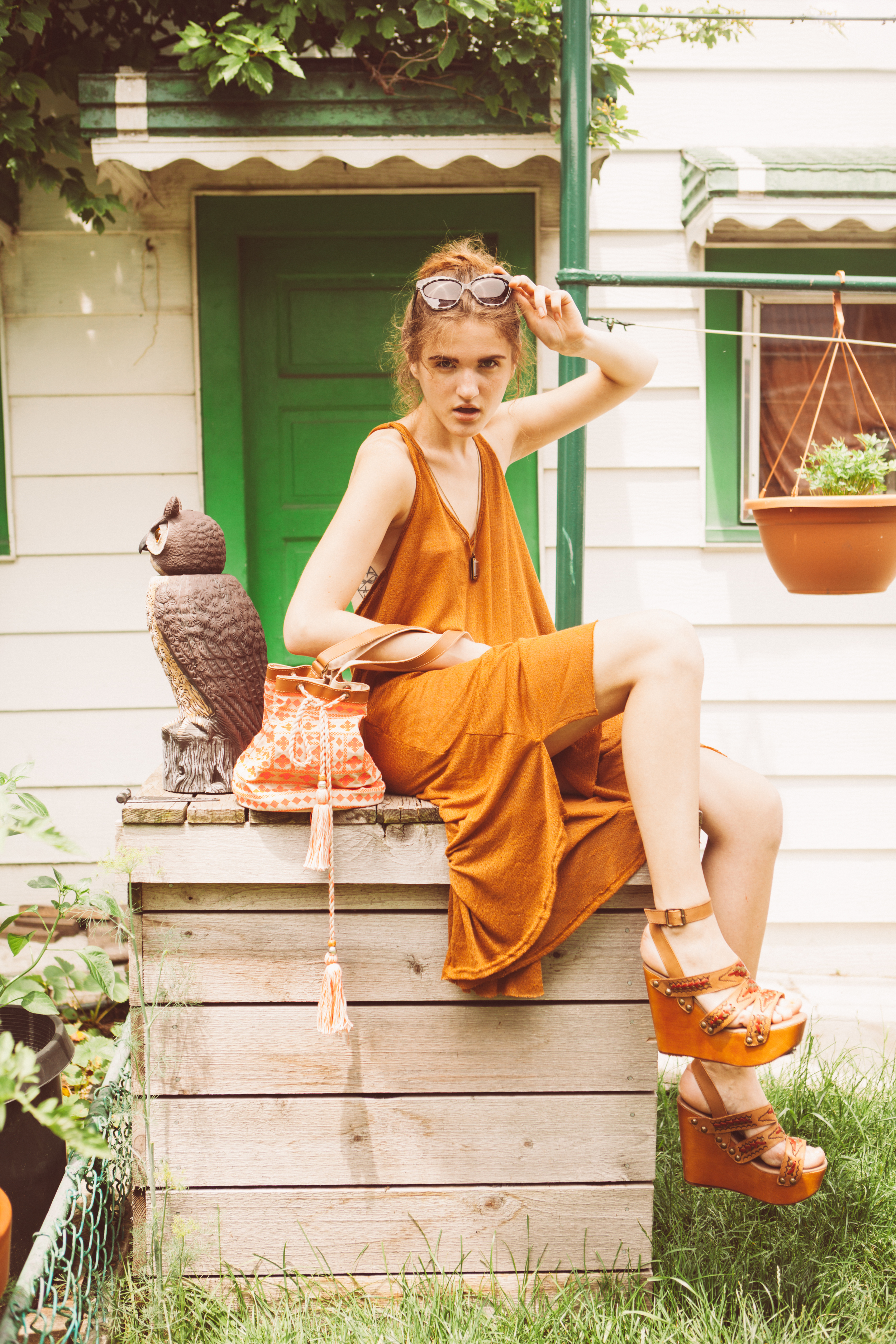 Chicago Backyard Lifestyle Photography Session by The Finches