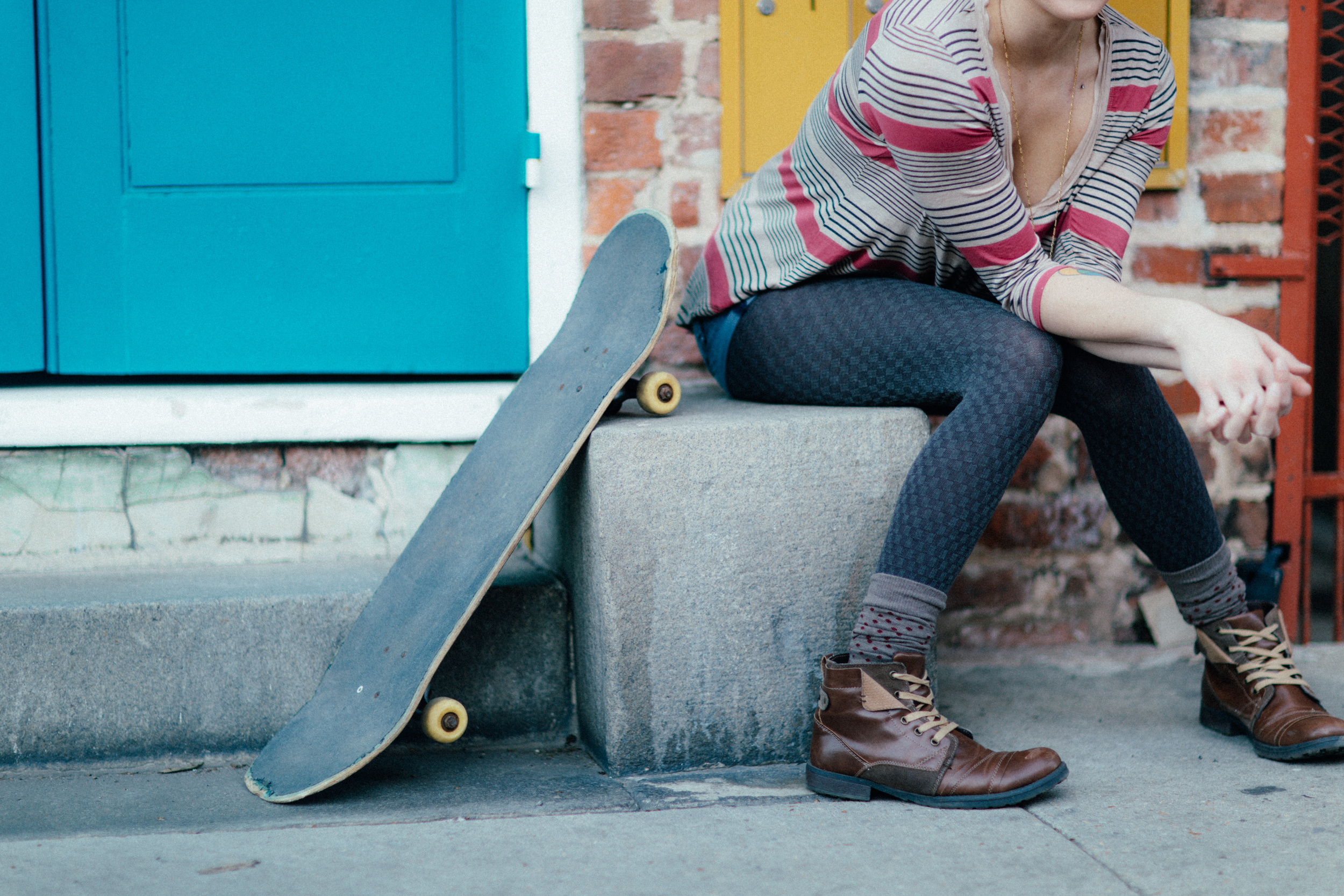 New Orleans Lifestyle Skate board Photography Session by The Finches