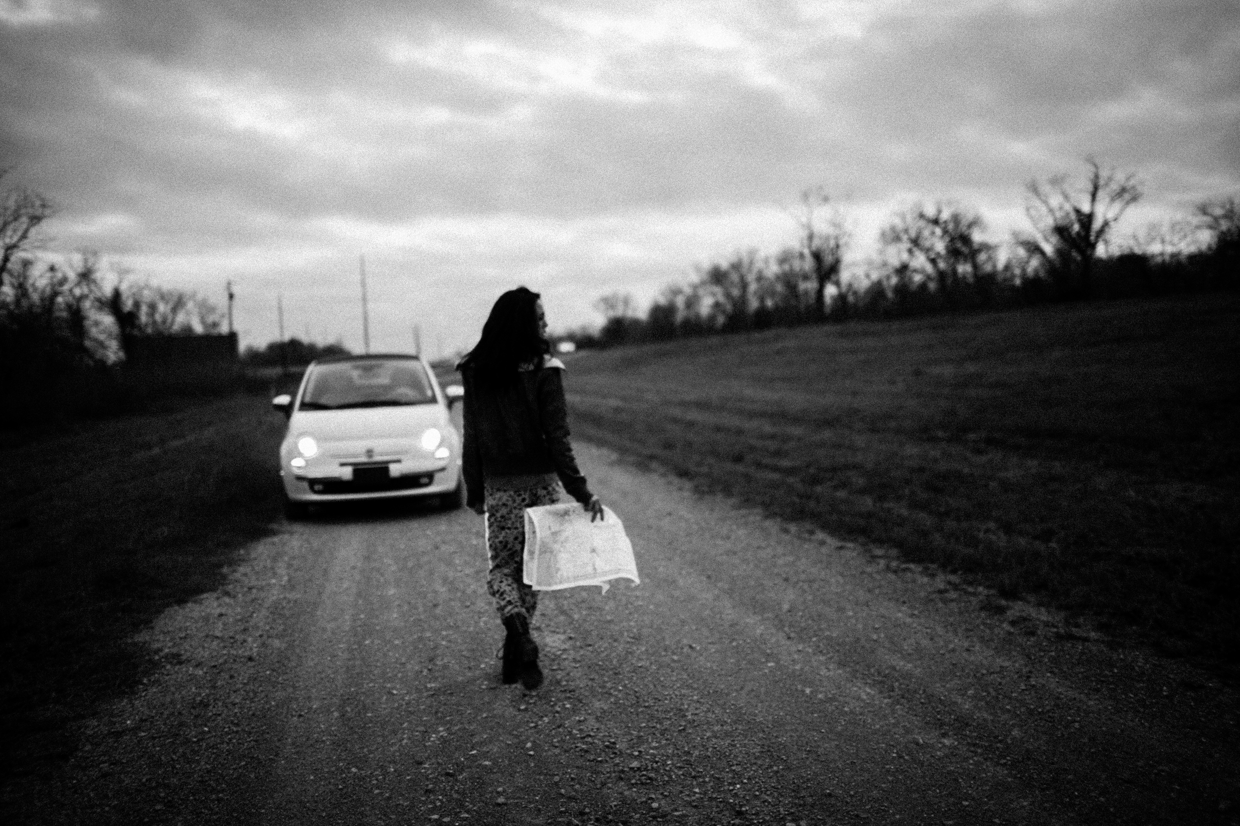 Fiat Lifestyle Black and White Photography by The Finches
