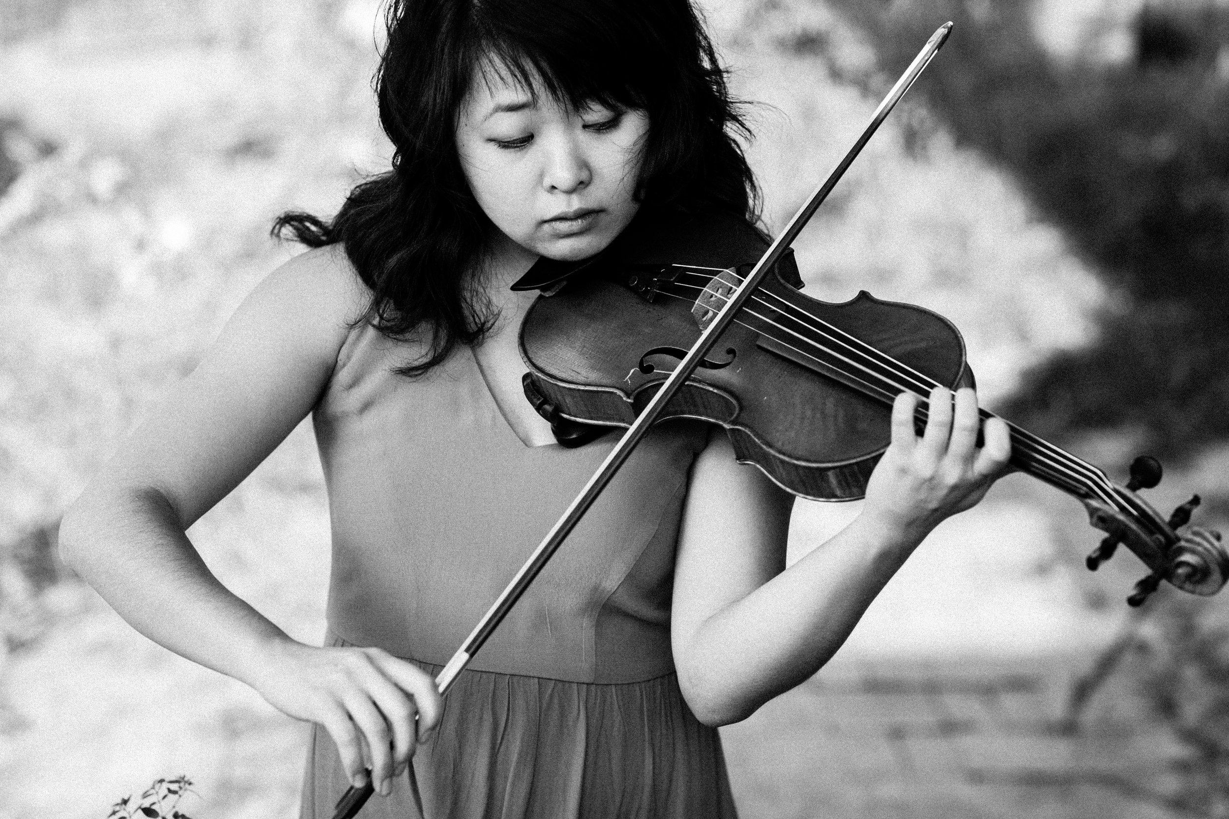 Grace Youn Austin Texas Violinist by The Finches