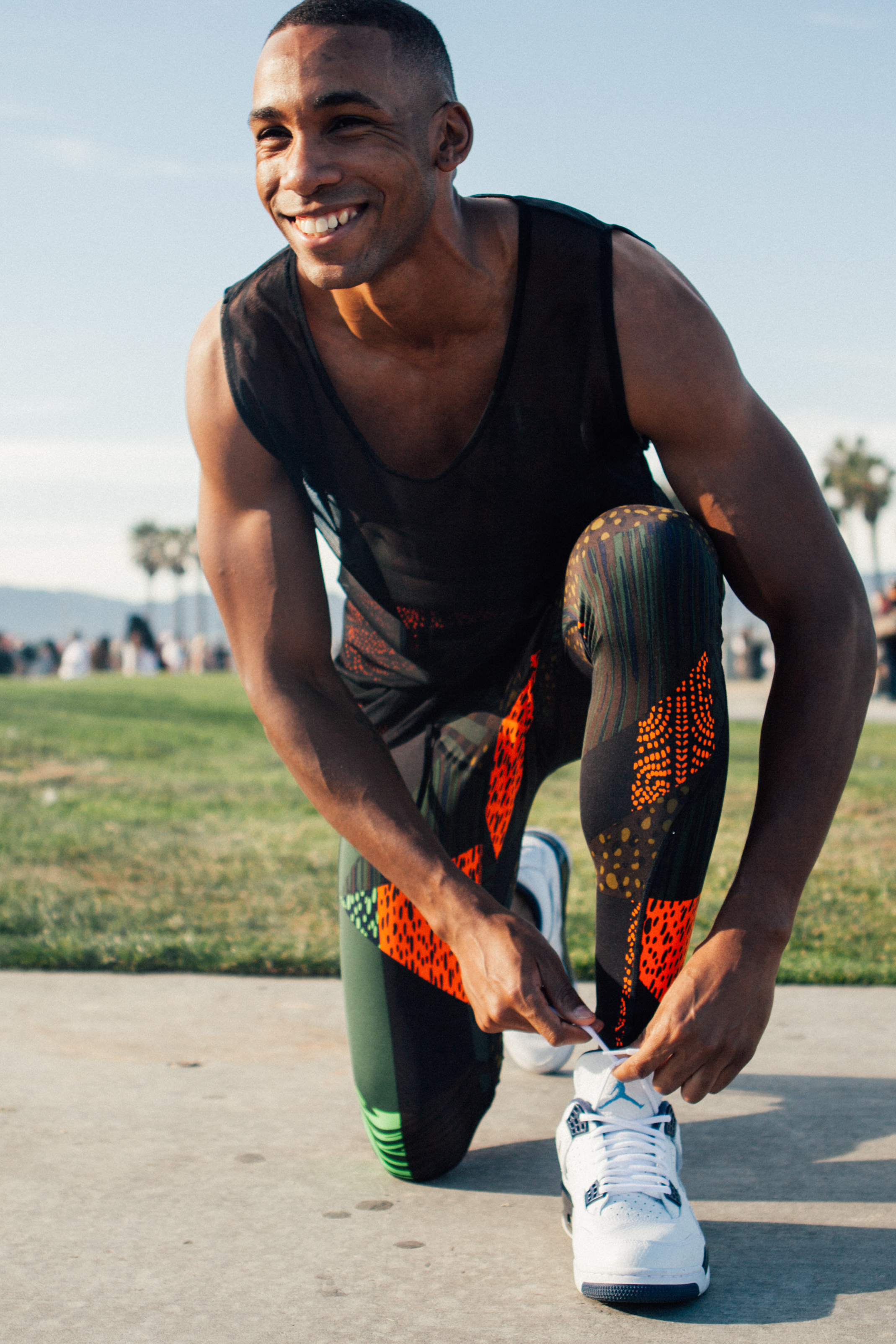 Lifestlye Workout Photography Session Venice Beach with Gary LaVard