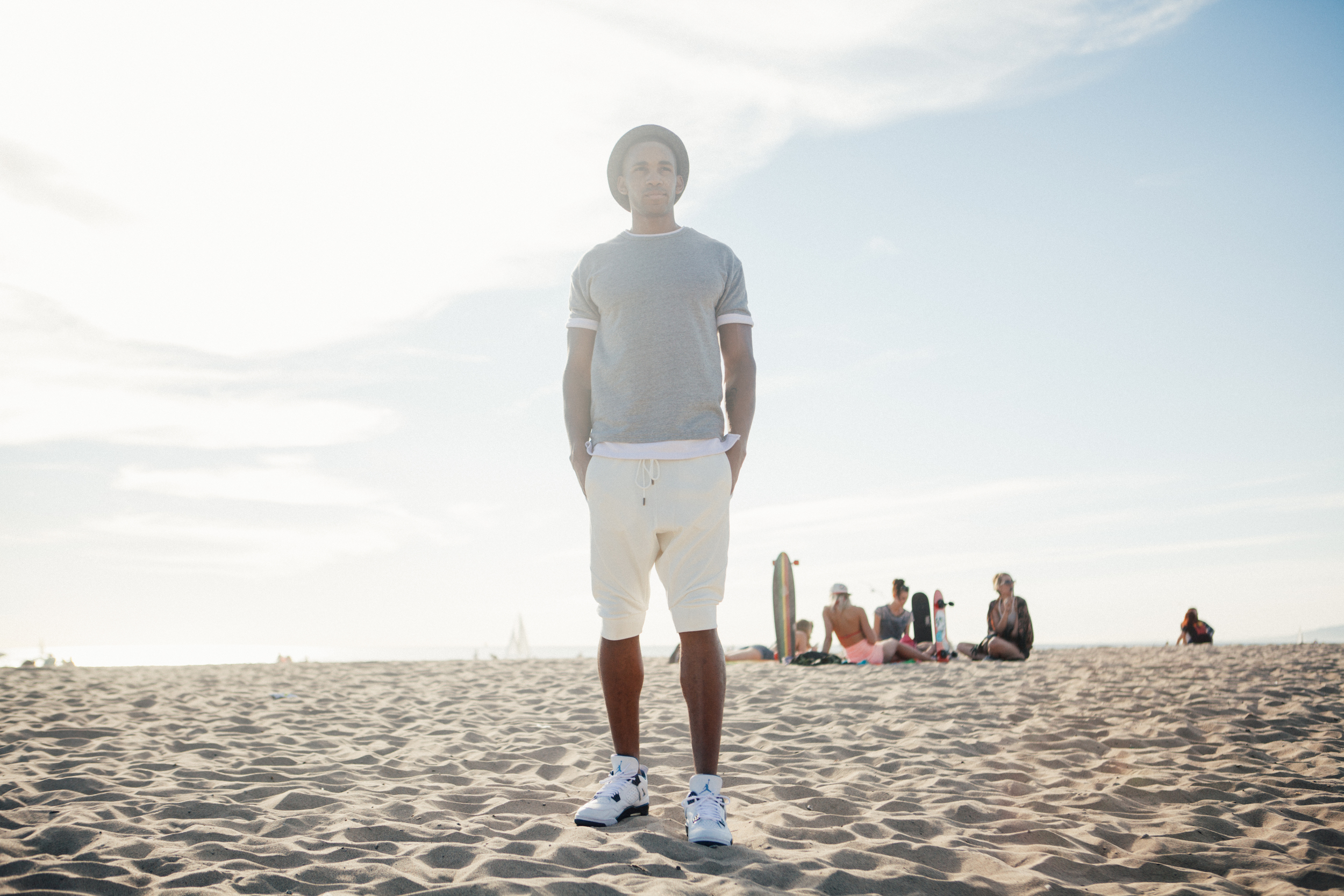 Nike Jordan Lifestlye Photography Session Venice Beach with Gary LaVard