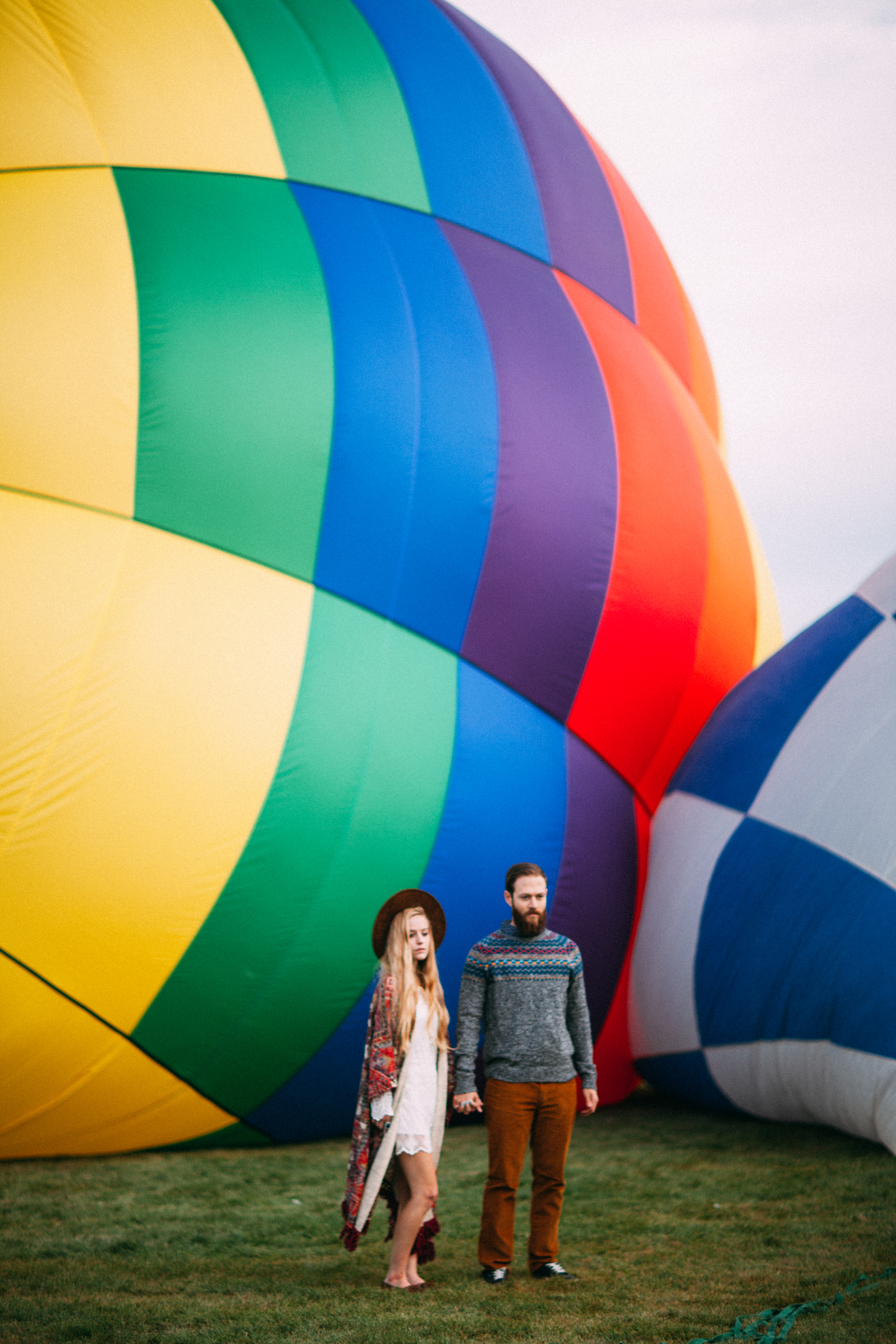 Urban Outfitters Albuquerque Hot Air Balloon Festival Lifestyle Photography by The Finches