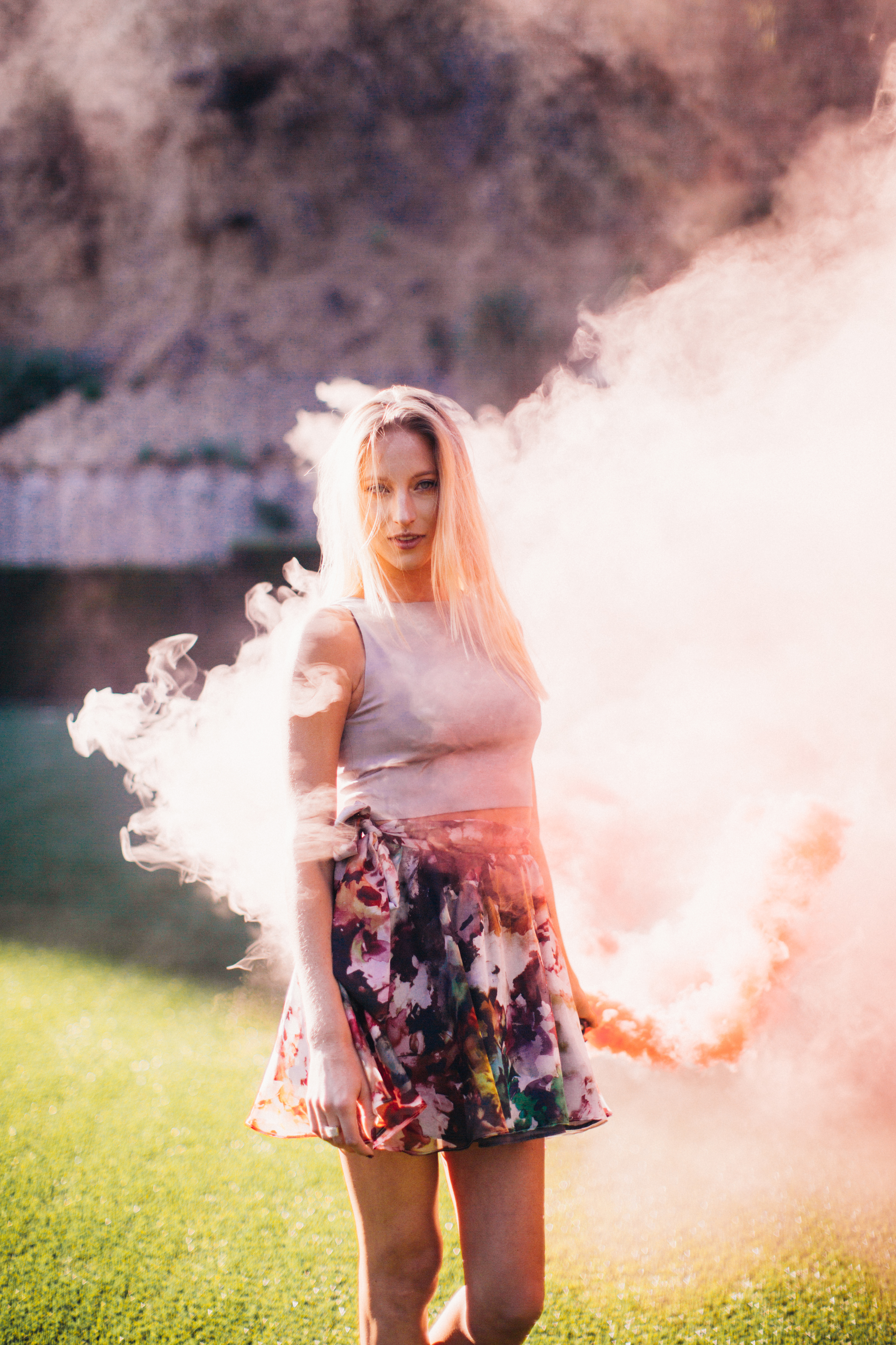 Los Angeles Smoke Lifestyle Photoshoot by The Finches