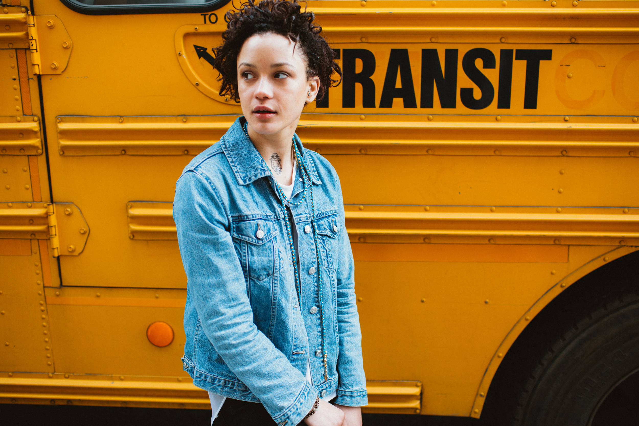 Brooklyn School Bus Lifestyle Photography The Finches