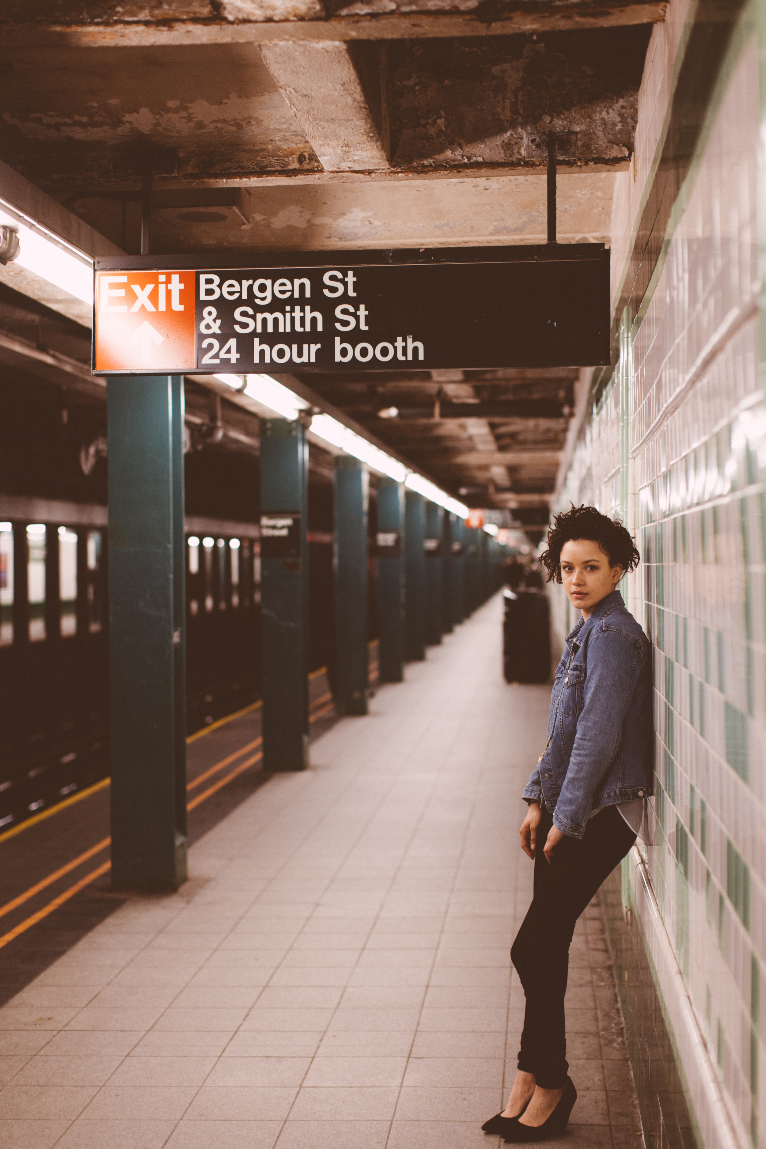 NYC Subway Lifestyle Photography The Finches