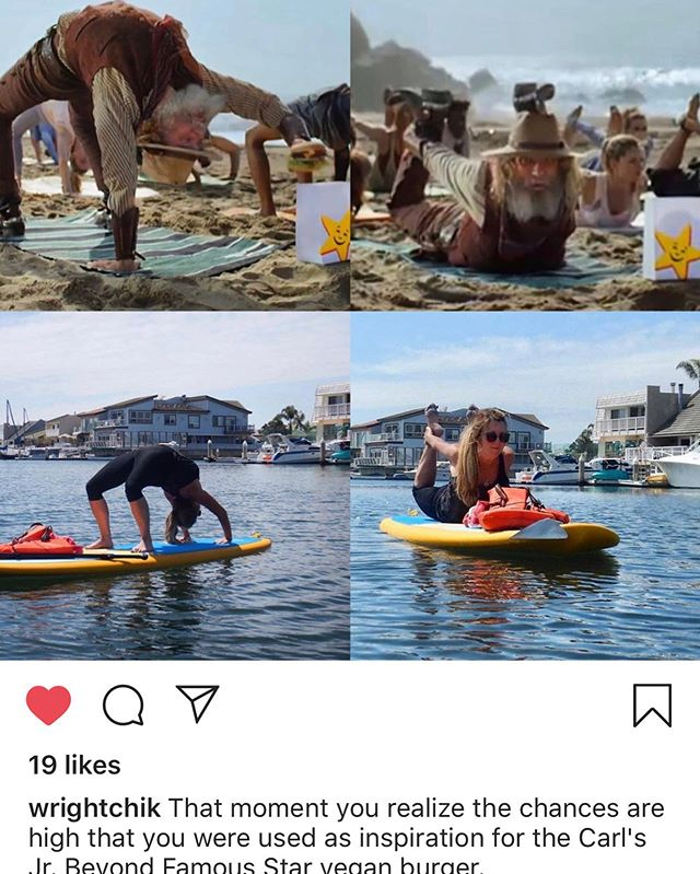 Nicely spotted, I think your right Kathy!  @wrightchik 's story is too good to not repost 😅 I love when fellow yogi's have a sense of humor! #seadogyoga