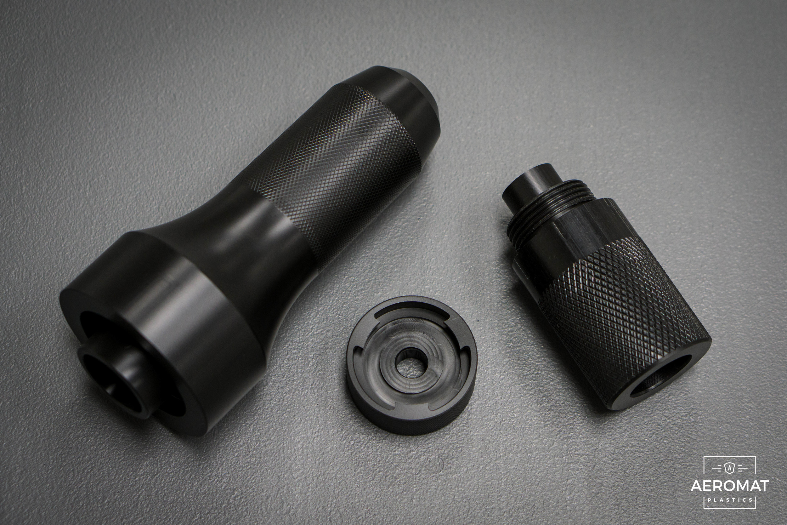 Black Acetal Machined Parts
